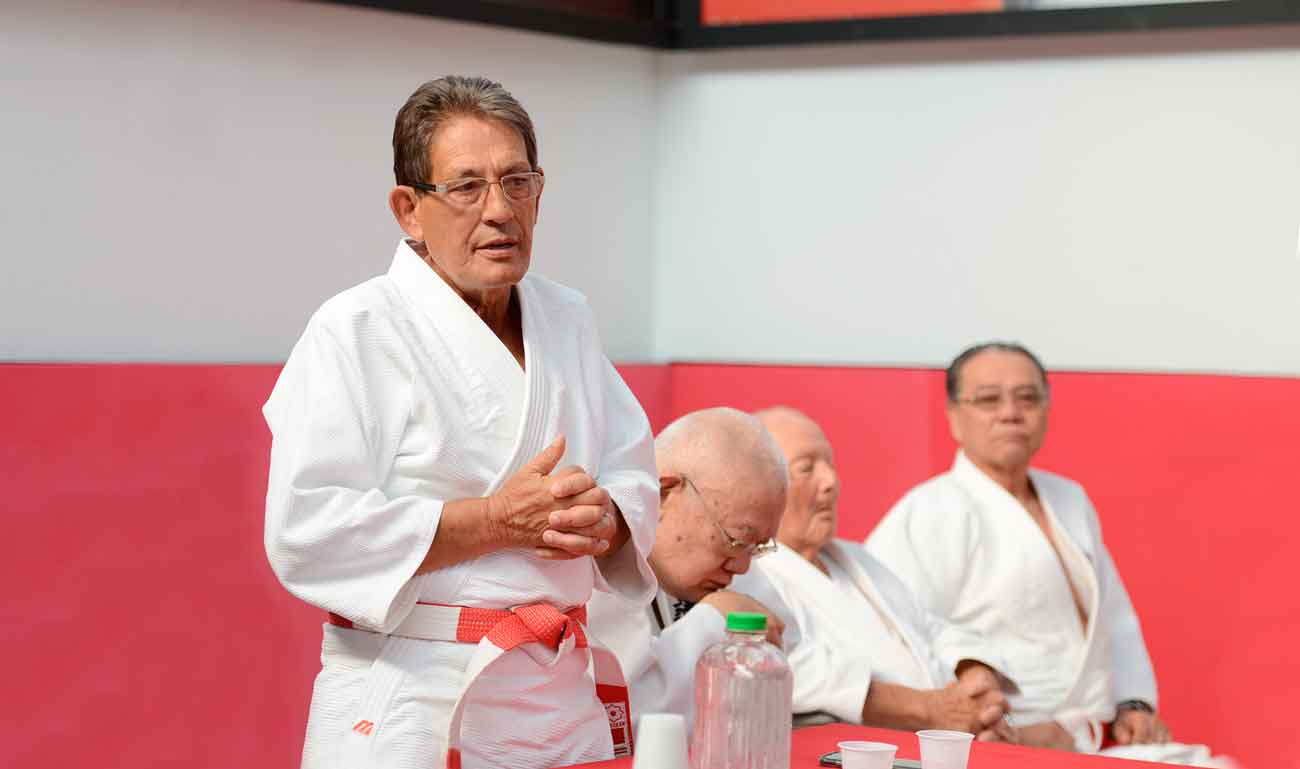 Judô Corpore Sano inaugura dojô com o nome de Francisco de Carvalho, ex-presidente da FPJudô