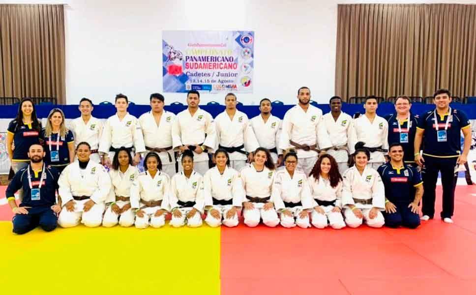 Judocas brasileiros garantem 14 medalhas no Campeonato Pan-Americano Sub 21