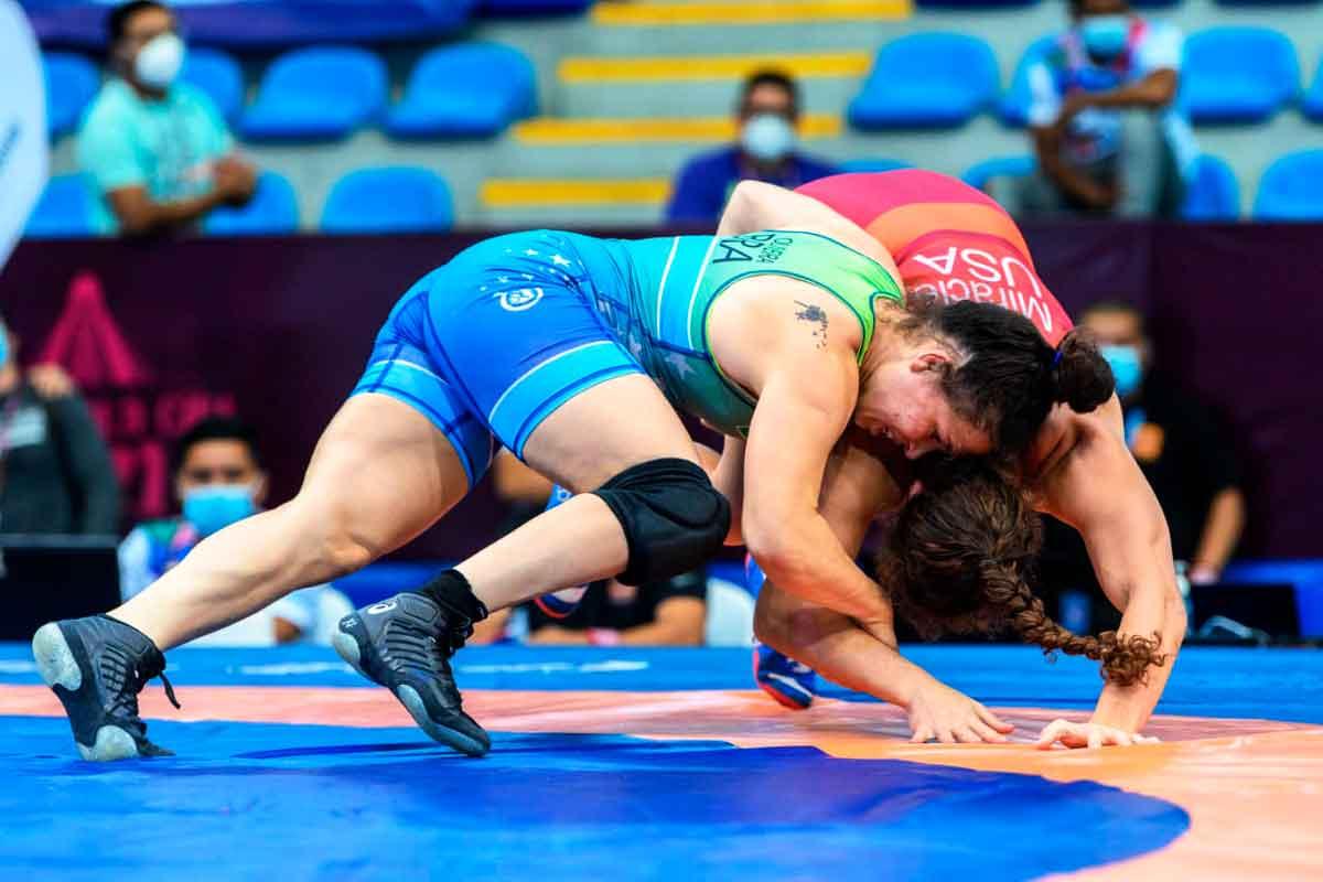 Laís Nunes inicia hoje busca de medalha inédita para o wrestling brasileiro