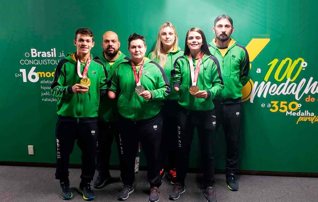 Taekwondo brasileiro estreia nos Jogos Paralímpicos com 100% de aproveitamento