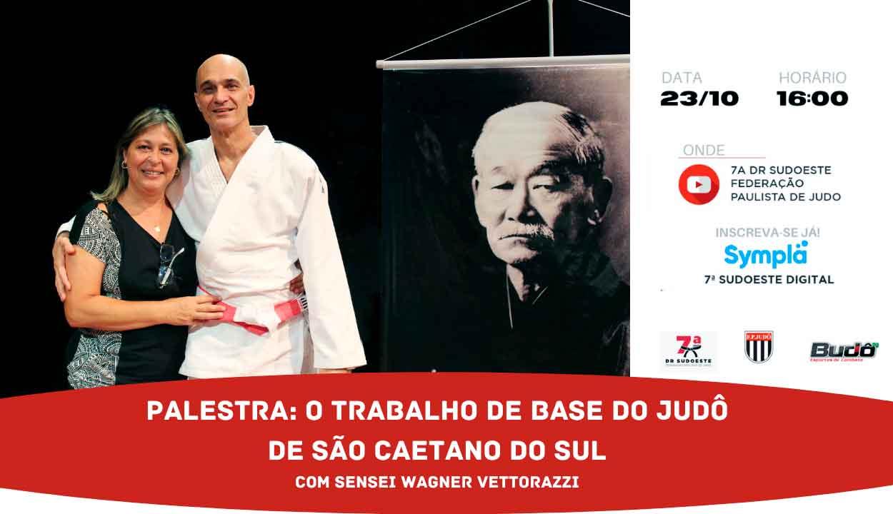 7ª DRJ realiza palestra sobre o trabalho de base do judô de São Caetano do Sul