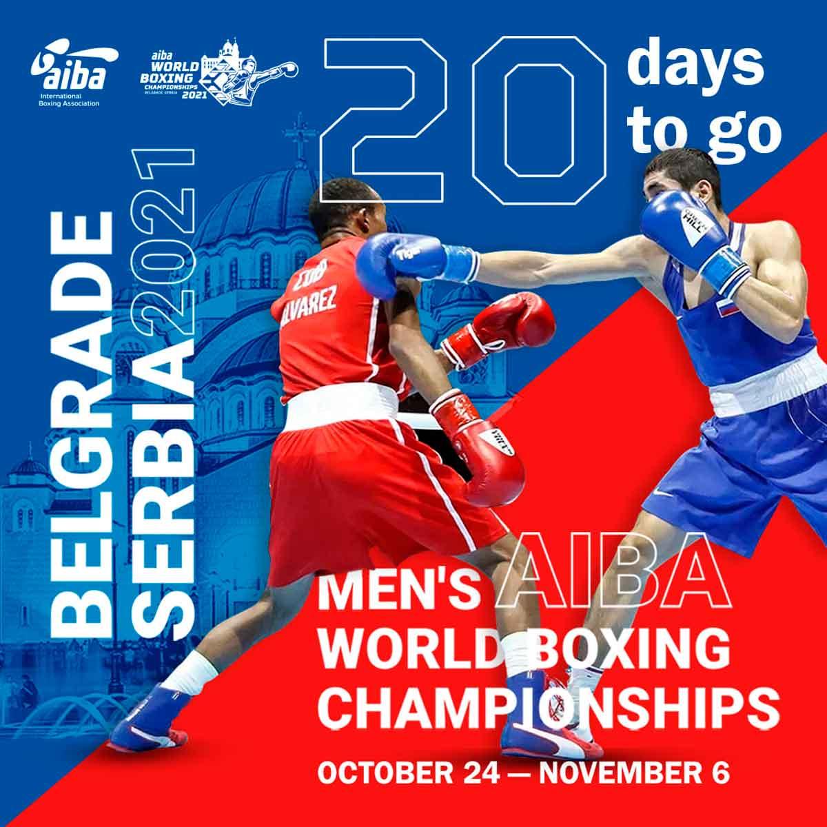 Definida a equipe que representará o Brasil no Campeonato Mundial de boxe masculino