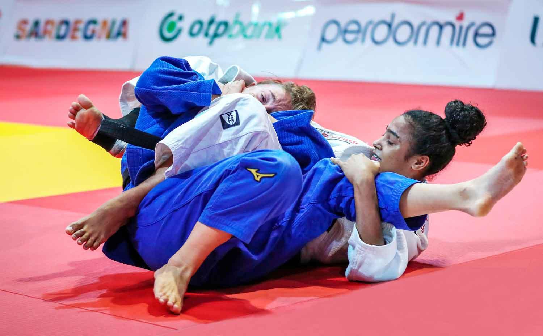 Rafaela Batista conquista medalha de bronze no Mundial Júnior de Judô, na Itália