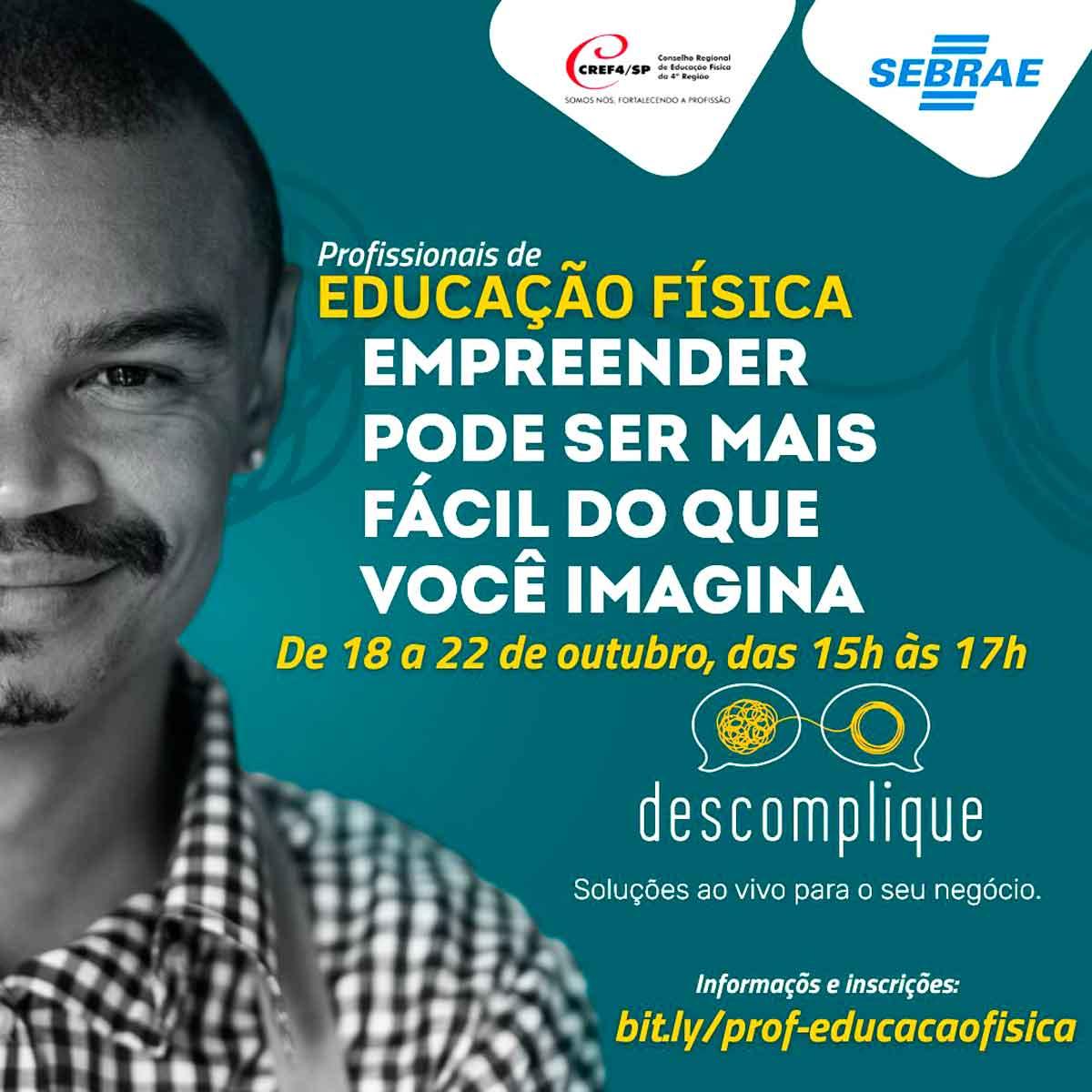 SEBRAE e CREF4/SP promovem curso de empreendedorismo para profissionais de Educação Física